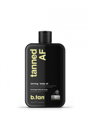 b.tan tanned AF oil